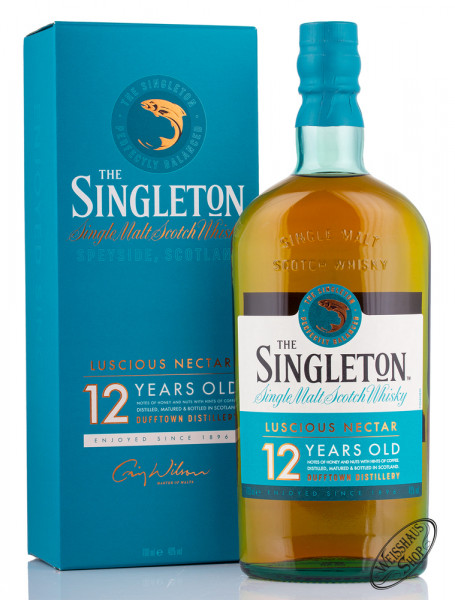 Singleton of Dufftown 12 Years Old Single Malt Whisky 40% vol. 0,70l