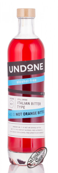 UNDONE No. 7 Italian Bitter This is Not Orange Bitter 0,70l