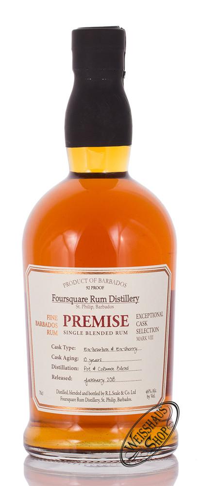 Foursquare Distillery Foursquare Premise 10 YO Rum 46% vol. 0,70l