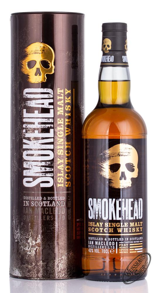 Smokehead Peated Islay Single Malt Whisky 43% vol. 0,70l