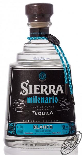 Sierra Milenario Blanco Tequila 41,5% vol. 0,70l