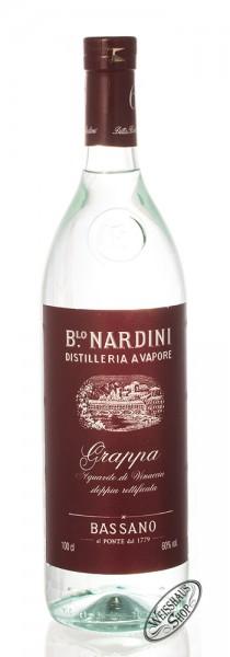 Nardini Grappa Bianca 60 60% vol. 1,0l