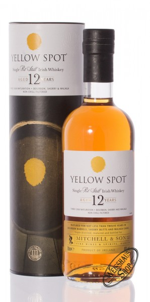 Yellow Spot Irish Whiskey 46% vol. 0,70l