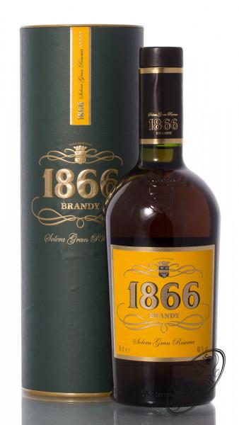 Larios 1866 Solera Gran Reserva Brandy 40% vol. 0,70l