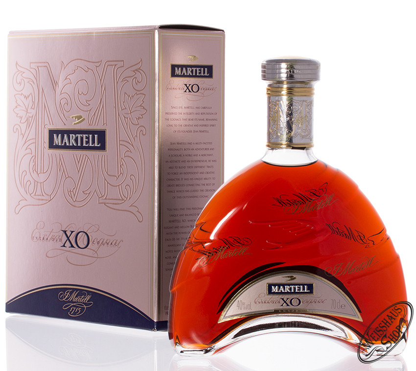 Martell XO Extra Old Cognac 40% vol. 0,70l