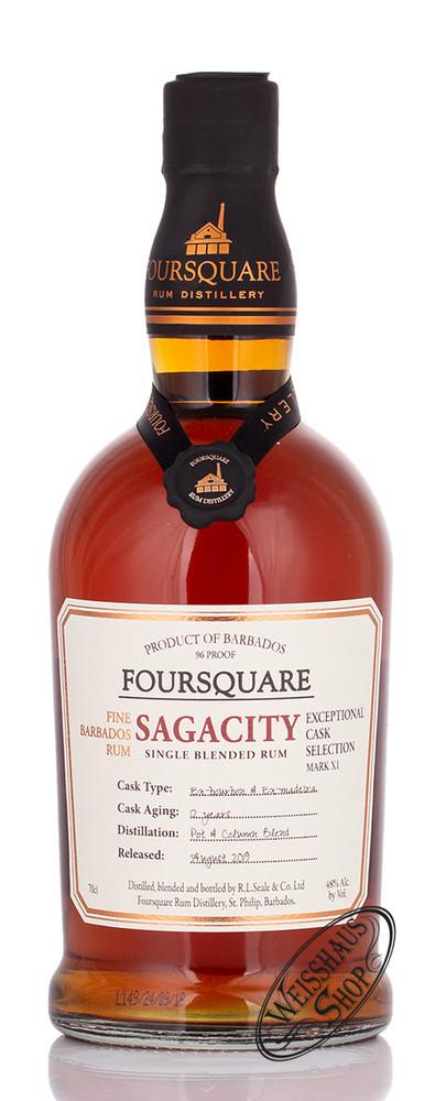 Foursquare Distillery Foursquare Sagacity 12 YO Rum 48% vol. 0,70l