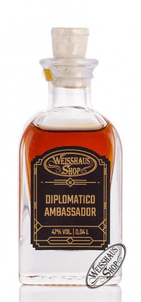 Diplomatico Ambassador Rum 47% vol. 0,04l Weisshaus Sample