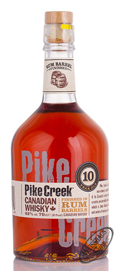 Pike Creek Canadian Whisky 42% vol. 0,70l
