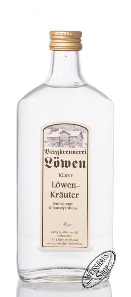 Bergbrennerei Löwen Klarer Löwenkräuter 35% vol. 0,50l