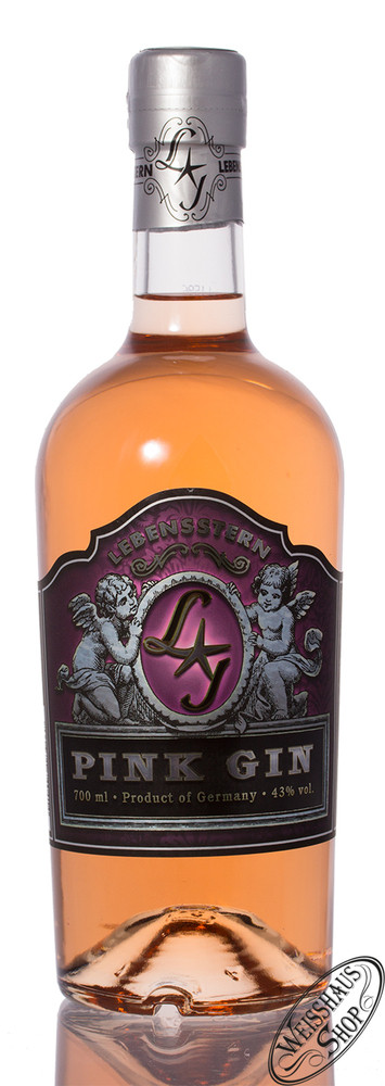 Freihof Lebensstern Pink Gin 43% vol. 0,70l