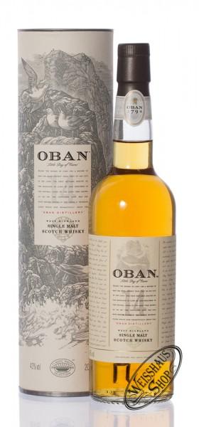 Oban 14 YO Single Malt Whisky 43% vol. 0,20l