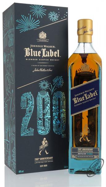 Johnnie Walker Blue Label 200th Anniversary Whisky 40% vol. 0,70l