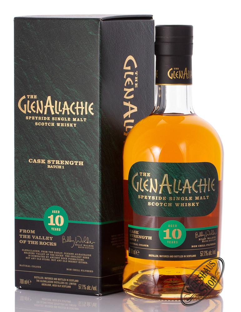 Glenallachie Distillers Co. Limited Glenallachie 10 YO Cask Strength Whisky 57,1% vol. 0,70l