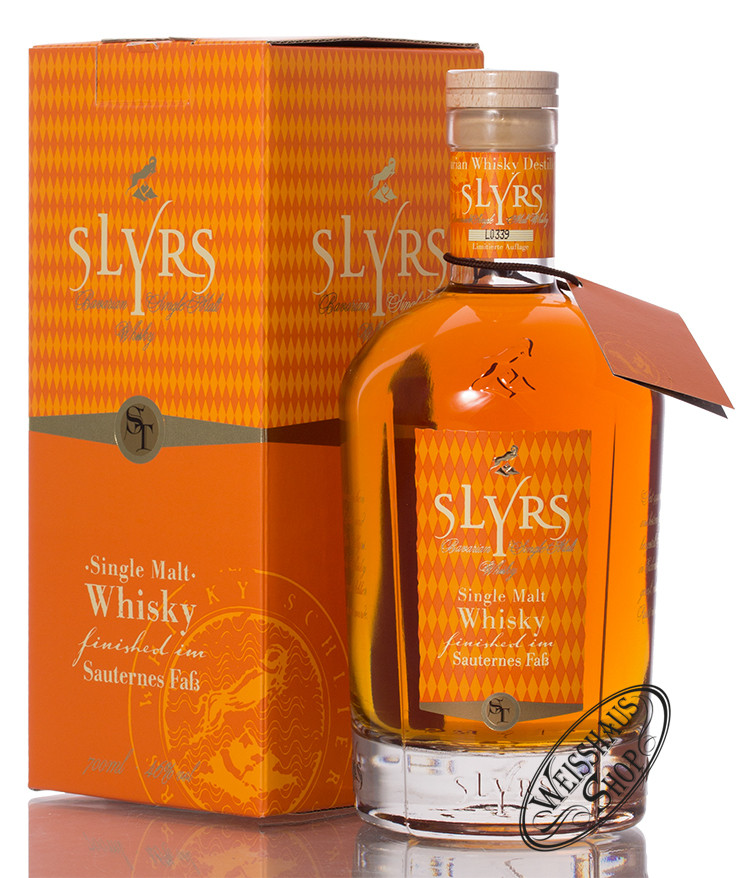 Slyrs Sauternes Edition Whisky 46% vol. 0,70l