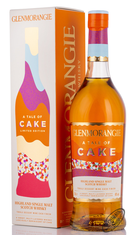 Glenmorangie A Tale of Cake Whisky 46% vol. 0,70l