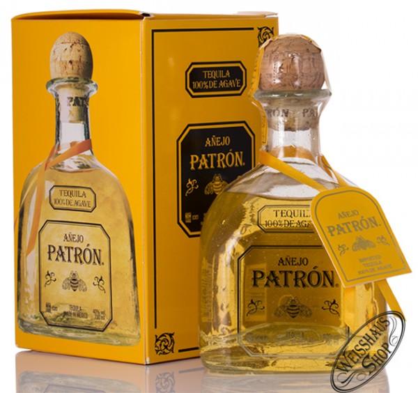 Patron Anejo Tequila 40% vol. 0,70l