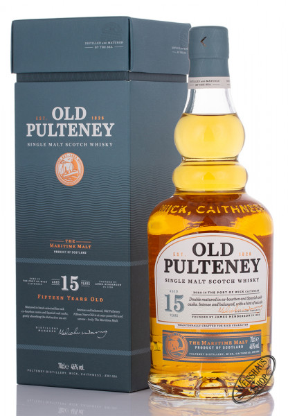 Old Pulteney 15 YO Whisky 46% vol. 0,70l