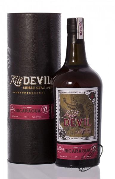 Kill Devil Nicaragua 17 YO Single Cask Rum 59,5% vol. 0,70l