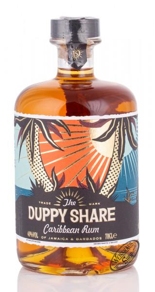 Duppy Share Golden Spiced Caribbean Rum 40% vol. 0,70l