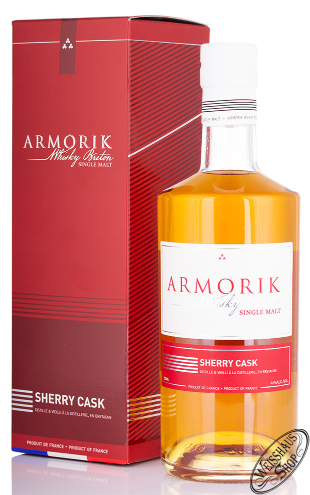 Distillery Warenghem Armorik Sherry Cask Single Malt Whisky 46% vol. 0,70l