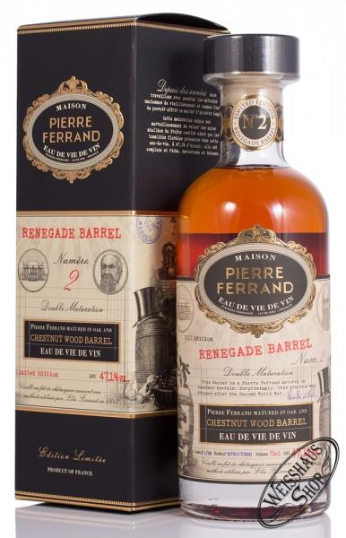 Pierre Ferrand Renegade Barrel No. 2 Cognac 47,1% vol. 0,70l