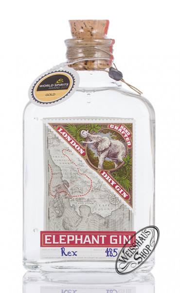Elephant London Dry Gin 45% vol. 0,50l