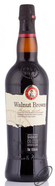 Williams & Humbert Walnut Brown Medium Sweet Sherry 19,5% vol. 0,75l