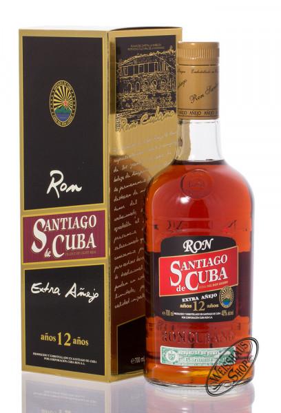 Santiago de Cuba Extra Anejo 12 YO Rum 40% vol. 0,70l