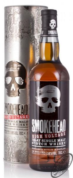 Smokehead High Voltage Islay Single Malt Whisky 58% vol. 0,70l