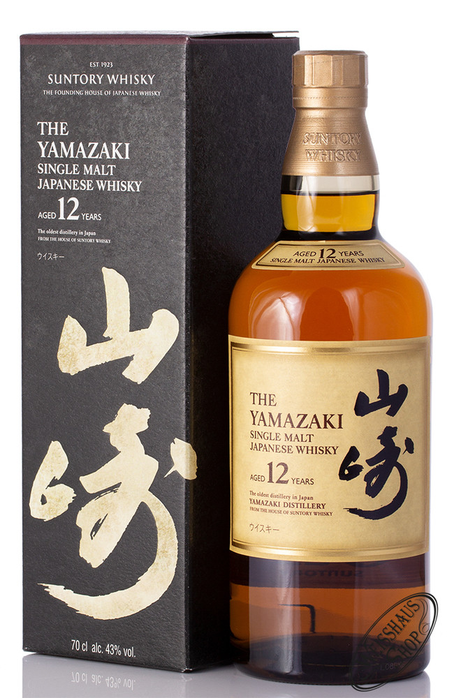 Yamazaki 12 YO Single Malt Whisky 43% vol. 0,70l