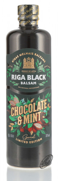 Riga Black Balsam Chocolate & Mint Edition 30% vol. 0,50l