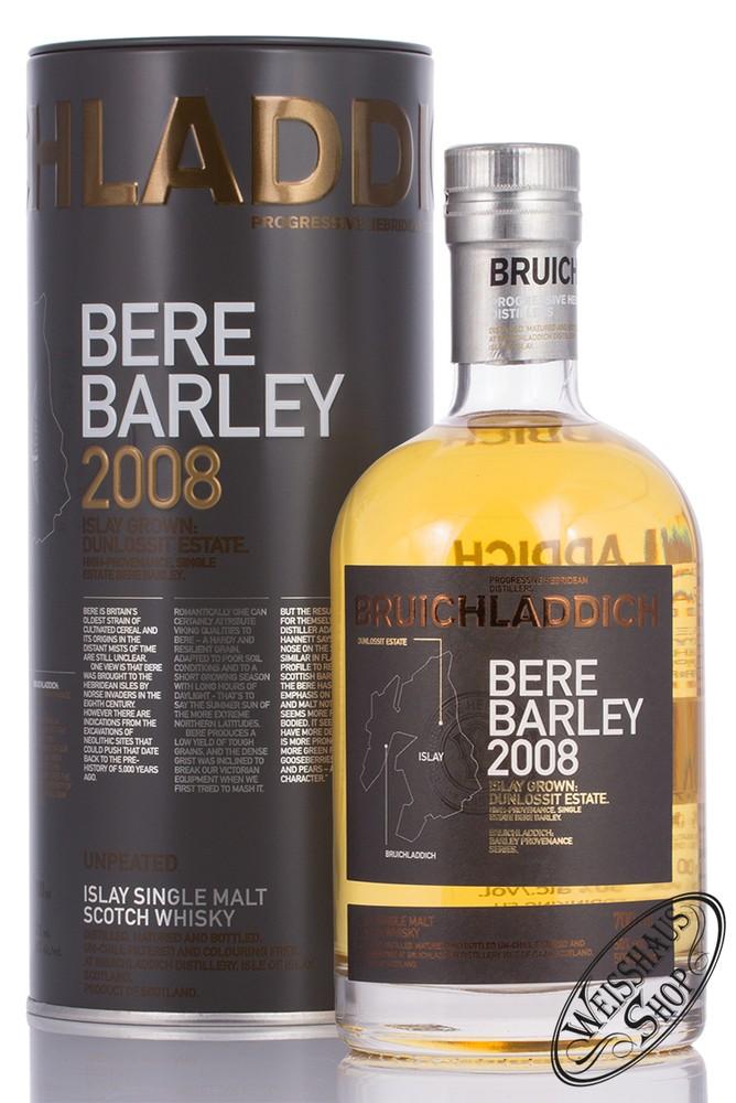 Bruichladdich Bere Barley 2008 Islay Whisky 50% vol. 0,70l