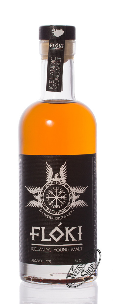 VOR Floki Icelandic Young Malt Whisky 47% vol. 0,50l
