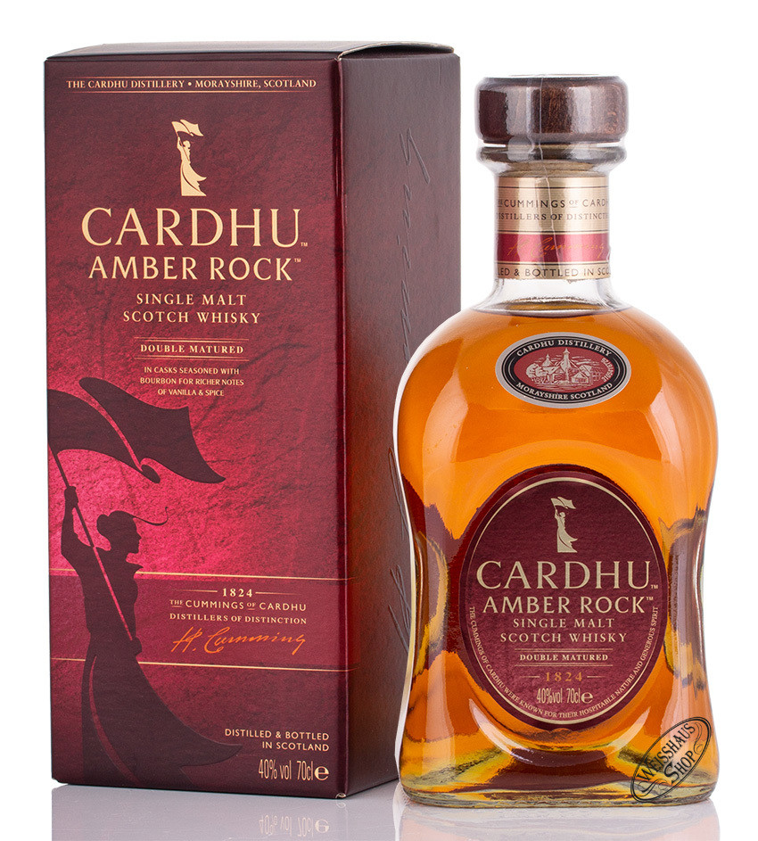 Cardhu Amber Rock Whisky 40% vol. 0,70l