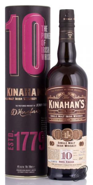 Kinahan's 10 YO Irish Whiskey 46% vol. 0,70l