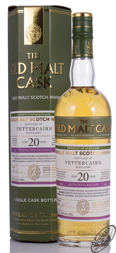 Fettercairn 20 YO Hunter Laing 1997 Whisky 50% vol. 0,70l