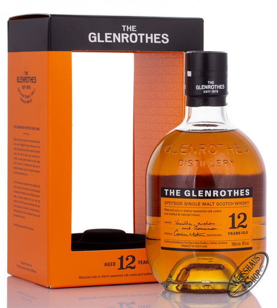 The Glenrothes 12 YO Whisky 40% vol. 0,70l