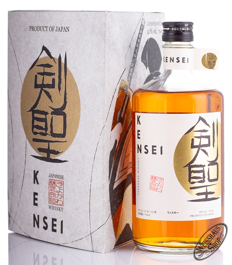 Kensei Japanese Whisky 40% vol. 0,70l
