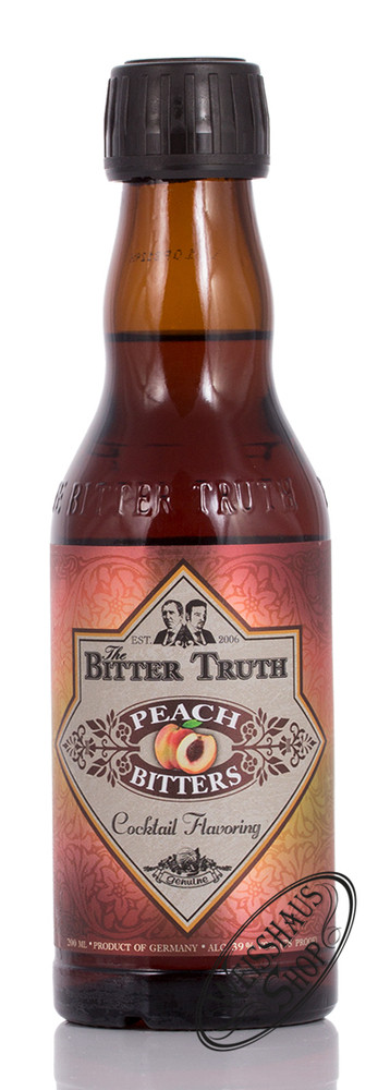 The Bitter Truth Peach Bitter 39% vol. 0,20l