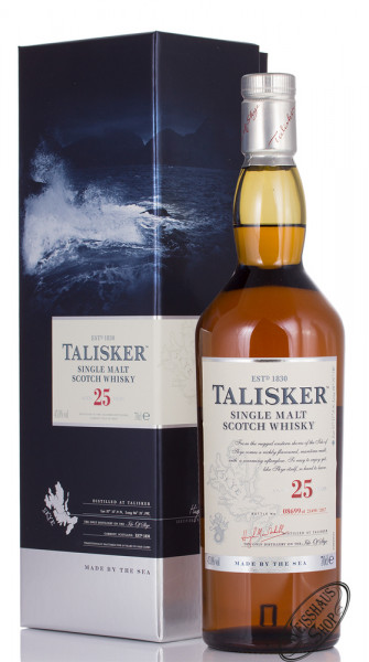 Talisker 25 Years Old Whisky 45,8% vol. 0,70l