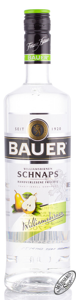 Franz Bauer GmbH Bauer Williams Schnaps 36% vol. 0,70l
