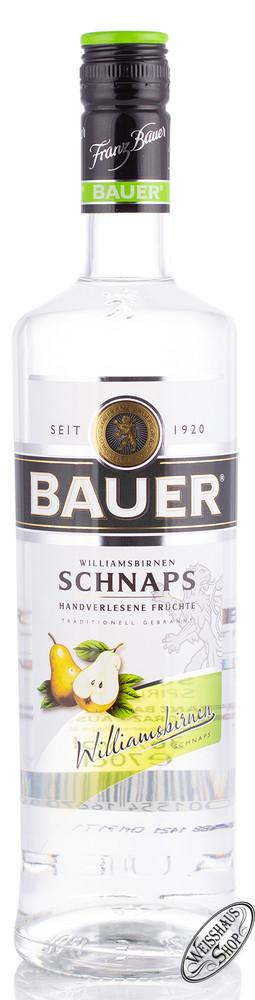 Franz Bauer GmbH Bauer Williams Schnaps 36% vol. 0,70l