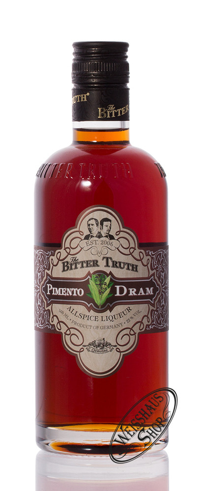 The Bitter Truth Pimento Dram 22% vol. 0,50l