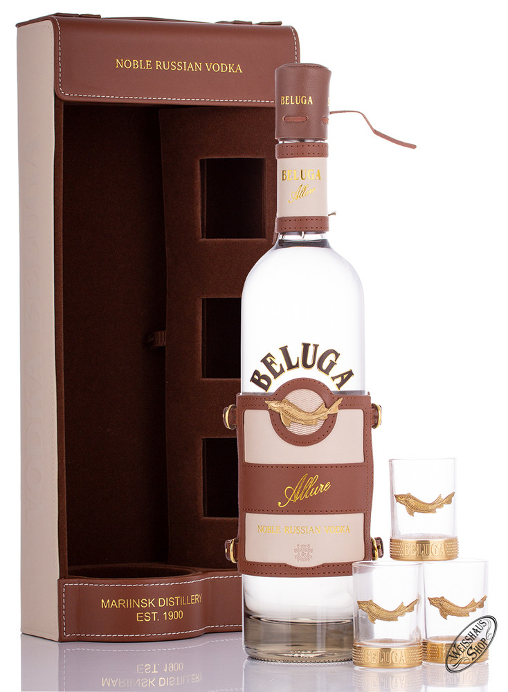 Beluga Allure Russian Vodka in GP 40% vol. 0,70l