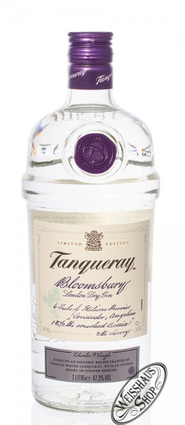 Tanqueray Bloomsbury Gin Limited Edition 47,3% vol. 1,0l