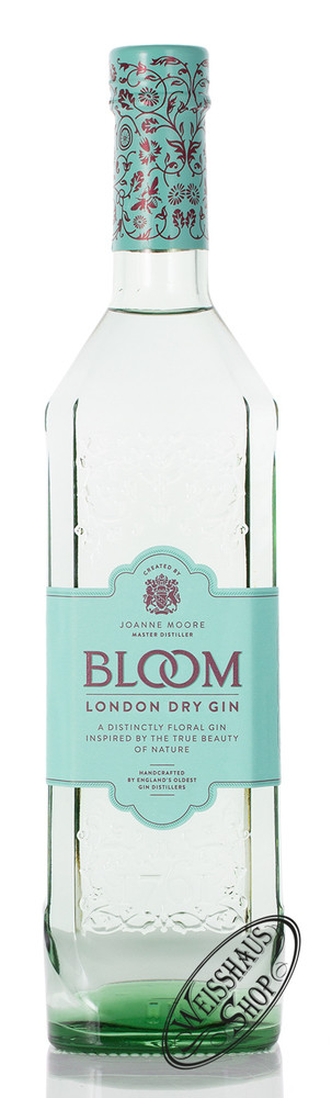 G&J Greenall Distillers Bloom London Dry Gin 40% vol. 0,70l