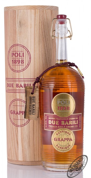 Poli Grappa Due Barili 40% vol. 0,70l