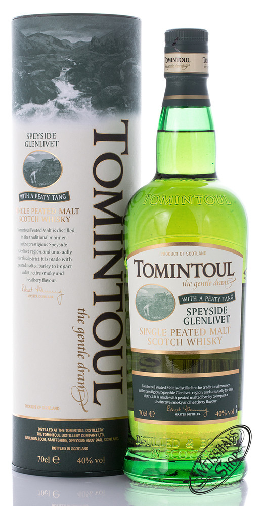 Tomintoul Peaty Tang Whisky 40% vol. 0,70l